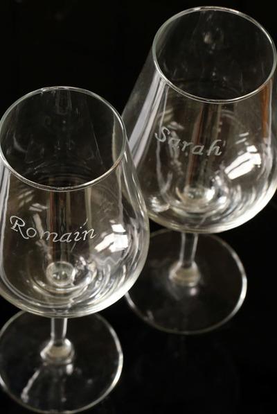 Spineux Romain - Gravure de verre